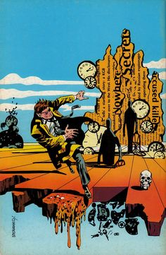 Comic Book Artist: Jim Steranko   Abduzeedo   Graphic Design Inspiration and Photoshop Tutorials
