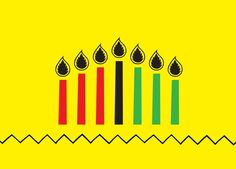 """""""Having been born and raised in Nairobi, Kenya, #Kwanzaa is not a celebration I know much about. As I learn about the related principles and practices, I reflect on how they relate to my experience—in Kenya, Tanzania and more recently in the US and UK, and how food is entwined with creativity and identity, and it is a perfect conduit for telling the stories of our cultures."""" #Kwanzaa Illustration by @Lulu Kitololo"""