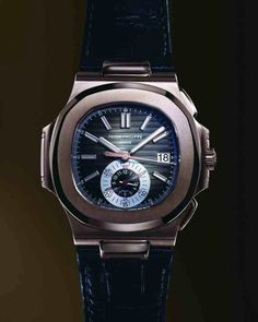 Sooo love the shape! Patek Philippe Nautilus Chronograph Ref. Amazing Watches, Beautiful Watches, Cool Watches, Men's Watches, Watch Cases For Men, Patek Philippe Aquanaut, Dream Watches, Luxury Watches For Men, Audemars Piguet