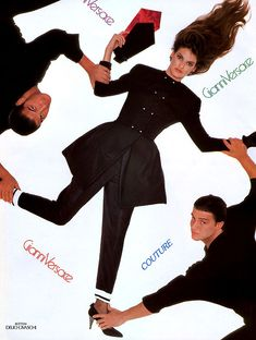 Gianni Versace ss 1988 by Richard Avedon, Linda Evangelista