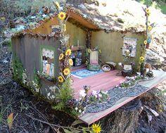 I would like to make a fairy house like this!