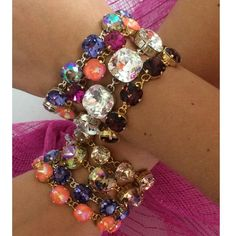 Victoria Lynn chain link bracelets hand made in Mississippi. Love layering these! Start your collection today!