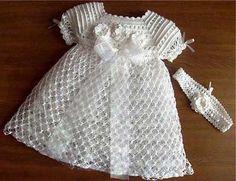 Modelos de Vestidos de Crochê Curtos e Longos da Moda
