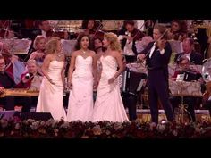 Andre Rieu - Hallelujah - YouTube - Pay close attention to the gentlemen in the Red Jackets.  this is making music fun. . for everyone.