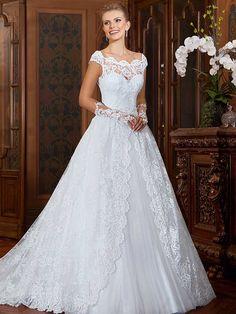Gardênia 32 - frente #coleçãogardenia #vestidosdenoiva #noiva #weddingdress #bride #bridal #casamento #modanoiva