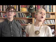 YACHT:tinydesk cant stop watching them, and pinning them in the wrong places