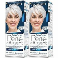 Crème embellisseur de cheveux blancs Ravive l`éclat et déjaunit Résultat naturel immédiat Quantité : 2 Référence fabricant : 05C5250700 Type : Beauté et hygiène Date de sortie : 2015-09-07 Fabricant : Garnier Belle Color