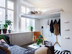 40 Design Ideas to Make Your Small Bedroom Look Bigger - ArchitectureArtDesigns.com