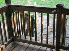 Good suggestions for building deck gate