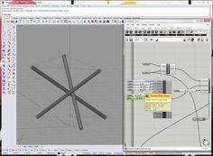 This video demos a tensegrity type setup where a series of connected struts and cables are simulated. Points of interest: interplay between rigid body (strut...