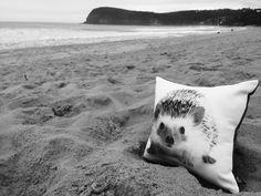 Babies need design love too . Junior Animal printed cushion from @bynordcopenhagen .  #taketheotherroad #surfcoast #liveauthentic  #letsgosomewhere #exklusive_shot #architectureporn #roadtrip #coastalliving #beach #beachlife #cushion #interiordesign #surf #coastalinterior by floc_store http://ift.tt/1KnoFsa