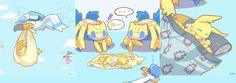 a cute joltik comic
