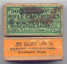 winchester western ammo box history