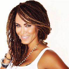 Nicole Ari Parker hair done by Xpress Your Kinks Atlanta stylist. Natural hair #xpressyourkinks #kinkytwists #naturalhair #nicoleariparker