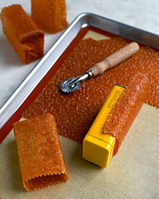 Eetbare bakjes maken