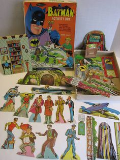 Batman Activity Box