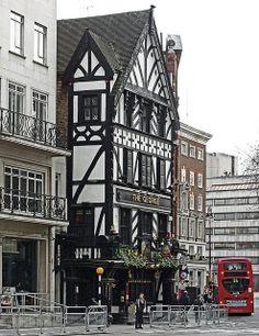 The George Pub, Strand, Fleet Street, London
