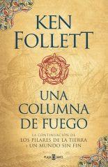 Cazadora De Libros y Magia: Una Columna De Fuego - Saga Los Pilares De La Tier...