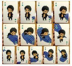 Sousuke's deck of cards ... Free! - Iwatobi Swim Club, free!, iwatobi, sousuke, yamazaki, sousuke yamazaki, whale shark, card