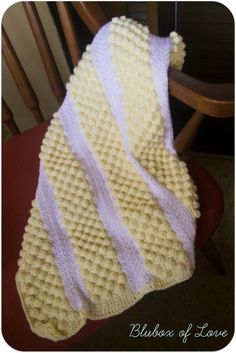 It's Bobble Time - Crocheted Baby Blanket ~ free pattern
