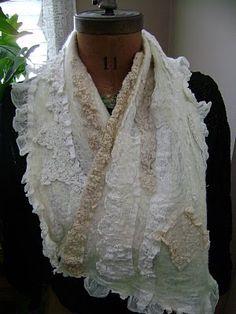 shabby scarves