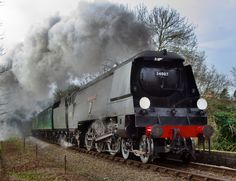 /by Arle Images Diesel, Flying Scotsman, National Railway Museum, Steam Railway, Southern Railways, Train Art, British Rail, Old Trains, Steam Engine
