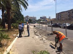 Bari: al via i lavori per la realizzazione della pista ciclabile su viale Di Vittorio via Re Devid e via De Ruggiero