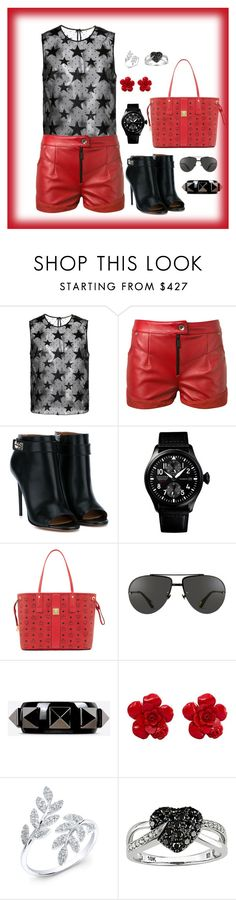 """""""untitled 158"""" by ahmady ❤ liked on Polyvore featuring Yves Saint Laurent, Magda Butrym, Givenchy, MCM, Linda Farrow, Valentino, Chanel, Anne Sisteron and Ice"""