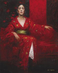 """Judy Drew, """"Red and Gold"""""""