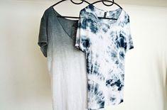 Fashion-Mind: DIY TIE DYE, DIP DYE, OMBRE SHIRT