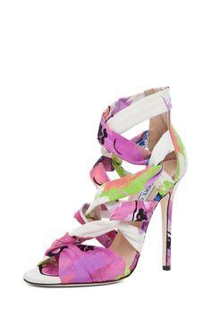 Jimmy Choo Kemble floral heel