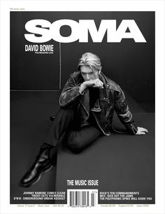 Magazine: SOMA Published: September 2002. Cover: David Bowie Photographed by Frank Ochenfels.