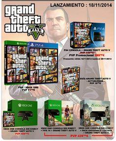 Consigue tu Xbox One o PS4 con los nuevos PACKS !!...
