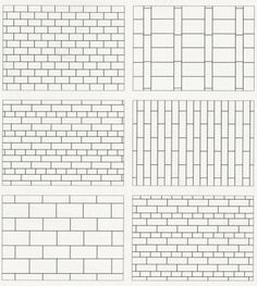 Tiling Grids -- a great way to distinguish tile installations.