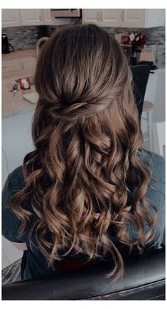 Quince Hairstyles, Formal Hairstyles For Long Hair, Down Hairstyles, Hairstyles Videos, Pageant Hairstyles, Office Hairstyles, Anime Hairstyles, Stylish Hairstyles, Hairstyle Short