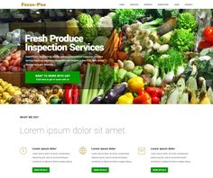 Fruit Inspector Lorem Ipsum, Website, Fruit, Grief, The Fruit
