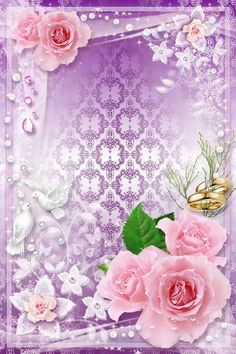 Wedding Frame psd template - White Doves, Symbol of Family Happiness Frame Border Design, Boarder Designs, Rose Frame, Flower Frame, Wedding Frames, Wedding Cards, Victorian Frame, Family Photo Frames, Photo Layers