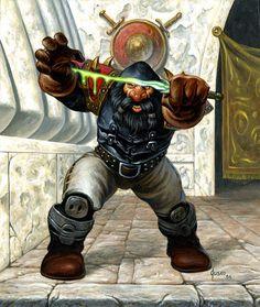 dwarf assassin   by twen5