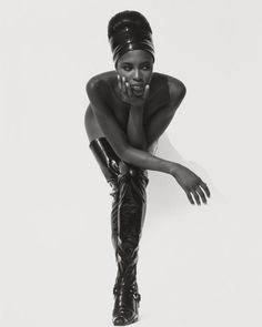 NAOMI CAMPBELL ACCORDING HERB RITTS    The photograph is taken from the book Herb Ritts: LA Style, published next month by Getty Publications. An exhibition runs at the J Paul Getty Museum at the Getty Centre, Los Angeles, from 3 April to 26 August.