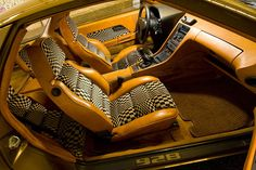 1978-80 Porsche 928 interior. I love it. It straddles that fine line of retro cool and unbelievably horrible.