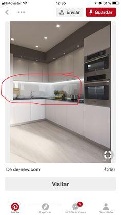 Kitchen Room Design, Kitchen Sets, Interior Design Living Room, Bed Design, House Design, House Extension Design, Kitchen Modular, American Kitchen, Office Home