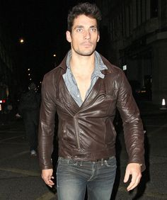 David Gandy casual style