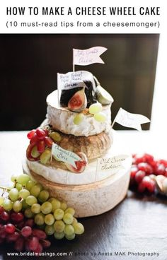 How To Make a Cheese Wheel Wedding Cake | Top Tips from Courtyard Dairy | Bridal Musings Wedding Blog11