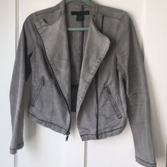 Calvin Klein Jean grey jacket Grey going out Jean jacket Calvin Klein Jackets & Coats Jean Jackets
