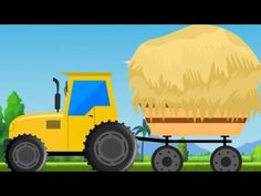kids tractor | videos for children | cartoons about cars - YouTube