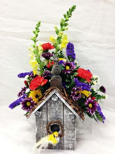 1000 Images About Birdhouse Arrangements On Pinterest