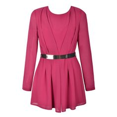 METAL BELT PLAYSUIT