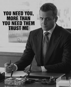 Trust Me Quotes, Strong Quotes, True Quotes, Positive Quotes, Work Motivational Quotes, Work Quotes, Success Quotes, Inspirational Quotes, Harvey Specter Quotes