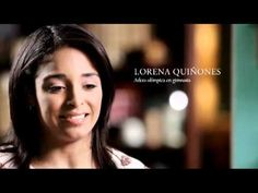 P Criando un Atleta Olímpico - Lorena Quiñones. There is a whole series of these. You can choose the closed caption option and have the subtitles projected in English or Spanish.