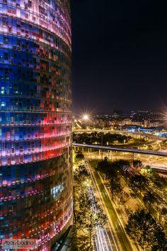 Agbar Tower, Barcelona, Catalunya